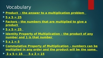 3rd Grade Math Multiplication Multiple Strategies  3.OA.A.1	3.OA.C.7	3.OA.A.3