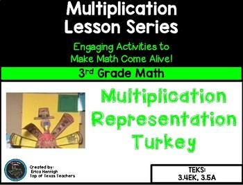 3rd Grade Math:  Multiplication Turkey FREEBIE!