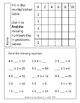 3rd Grade Math Multiplication Worksheet Packet with Answers 3.OA.A.4