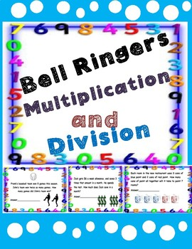 3rd Grade Math-Multiplication and Division Bell Ringers