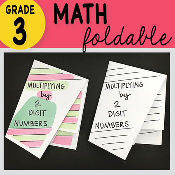 3rd Grade Math Multiplying 2 Digit by 1 Digit Numbers by Math Doodles