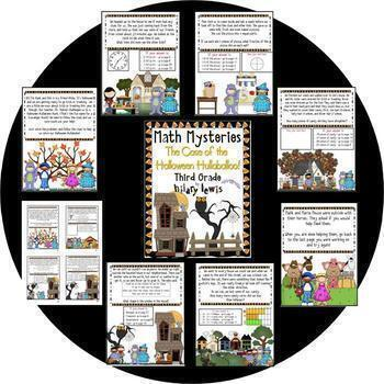3rd Grade Math Mysteries 9 Pack - Now a Download!