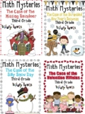 *3rd Grade Word Problems - Math Mysteries 10 Pack Bundle