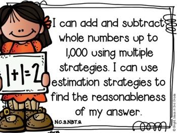 3rd Grade Math NC Objectives {Melonheadz Edition}