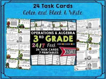 3rd Grade Math - Operations & Algebra