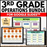 3rd Grade Math Operations Bundle {3.NBT.2, 3.NBT.3, 3.OA.1...} Google Classroom