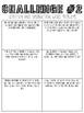 3rd Grade Math-Or-Treat