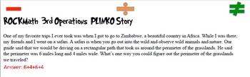 3rd Grade Math PLINKO
