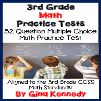 3rd Grade Math Practice Test, Standards Aligned!