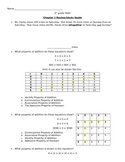 3rd Grade Math Practice Test and Review- chapter 1 Go Math