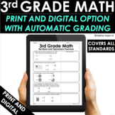 3rd Grade Math Practice and Review - Google Classroom - Test Prep