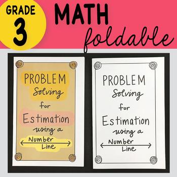 Doodle Notes - 3rd Grade Math Problem Solving Using Estimation