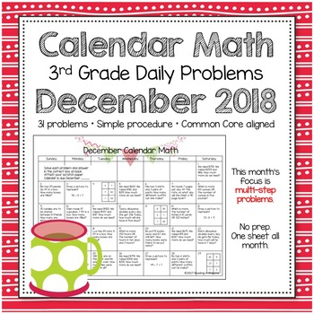 Problem of the Day: December