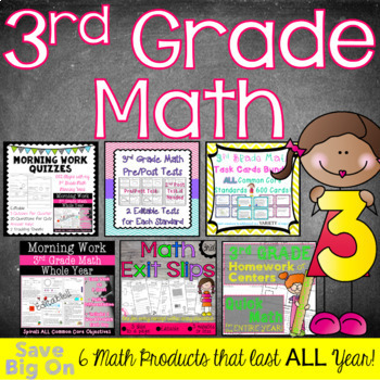 3rd Grade Math for the Year