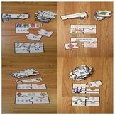 Math Centers 3rd Grade Math Test Prep 3rd Grade Math Review Game Puzzles Bundle