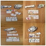 Bundle End of the Year 3rd Grade Math Review Game Puzzles Morning Work Centers