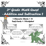 3rd Grade Math Quest Addition and Subtraction 2