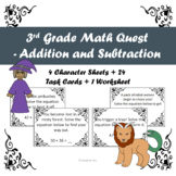 3rd Grade Math Quest - Addition and Subtraction