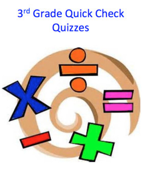 3rd Grade Math Quick Check Quizzes