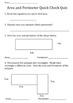 3rd Grade Math Quick Check Quizzes