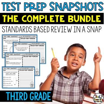 3rd Grade Math: Quick Checks / Exit Slips THE BUNDLE