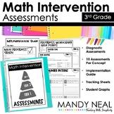 3rd Grade Math RTI Assessments
