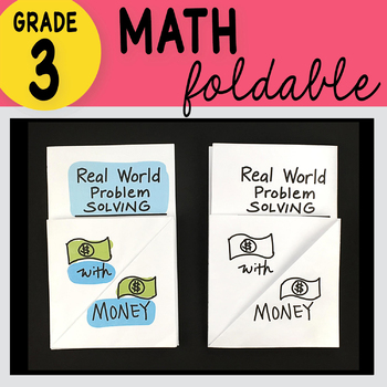 3rd Grade Math Real World Problem Solving with Money by Math Doodles