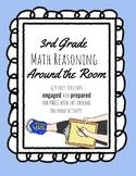 3rd Grade Math Reasoning Task Cards (PARCC Practice)