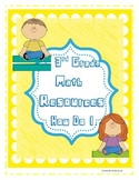 3rd Grade Math Resources and Reference Guides