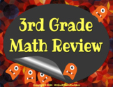 3rd Grade Math Review 24 Interactive Digital or Printable
