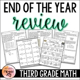 3rd Grade Math End of the Year Review & Assessments