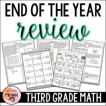 3rd Grade Math End of the Year / Summer Review