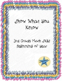 3rd Grade Math Review Beginning of Year