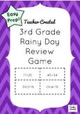 3rd Grade Math Review Game