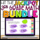 3rd Grade Math Review Game Show Bundle Google Slides   Distance Learning
