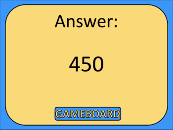 3rd Grade Math Review Game Show EDITABLE Numbers & Operations in Base Ten