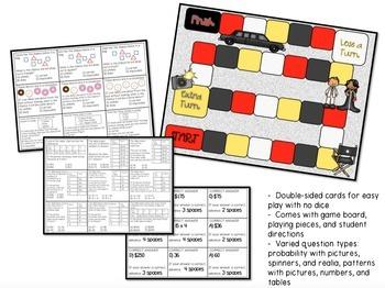 3rd Grade Math Review Games Bundle