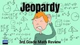 3rd Grade Math Review Jeopardy (Google Slides)