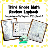 3rd Grade Math Review Lapbook