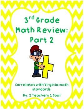 3rd Grade Math Review Part 2