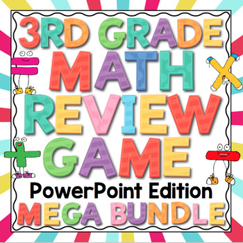 3rd Grade Math Review - PowerPoint Edition