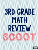 3rd Grade Math Review SCOOT GAME