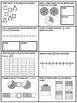 3rd Grade Math Review Set #1