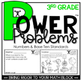 3rd Grade Math Rigorous Word Problems Numbers & Operations