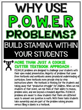 3rd Grade Math Rigorous Word Problems Operations & Algebraic Thinking Standards