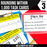 Rounding Task Cards 3rd Grade Math Centers