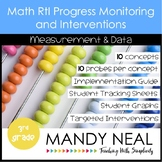 3rd Grade Math RtI Assessments & Intervention Binder for M