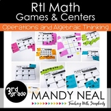 3rd Grade Math RtI Intervention Games and Centers for OA