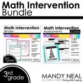 3rd Grade Math RtI Standards Based Bundle