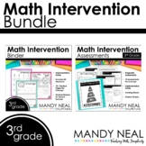 3rd Grade Math Intervention Standards Based Bundle